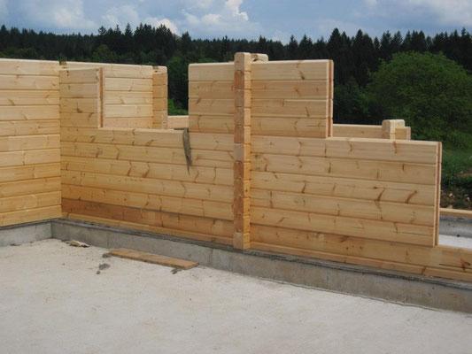Construcción de casas de madera pasivas