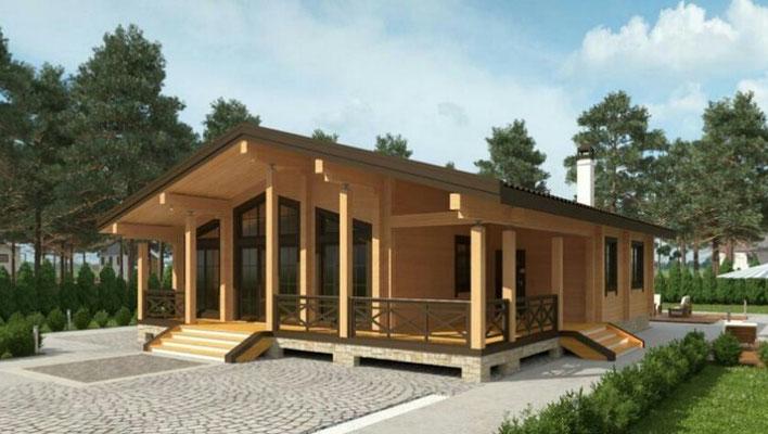 casas rurales de madera pasivas