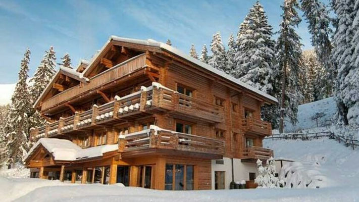 Hoteles de madera