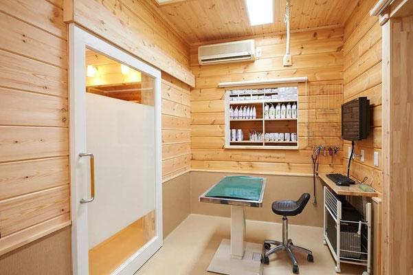 Clinica dental de madera