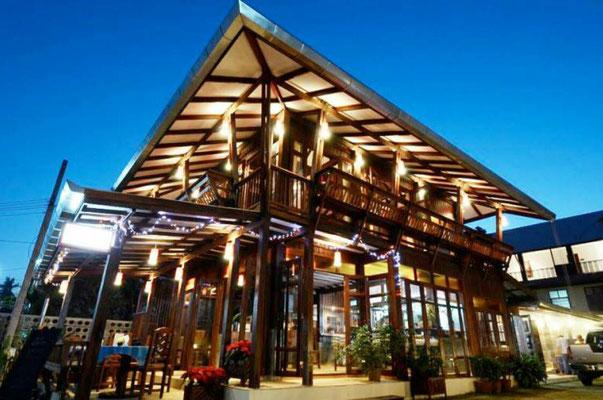 restaurantes de madera de lujo