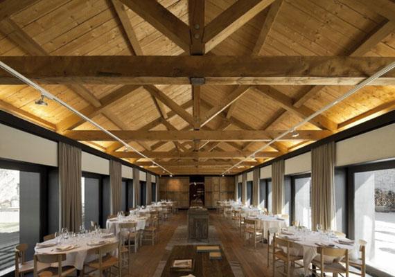 construcción de restaurantes de madera