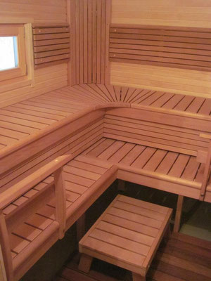 casas de madera sauna modernas