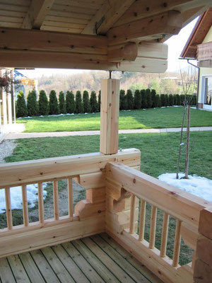 casas de madera prefabricada