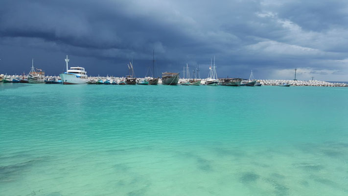 Storm on the way to Pelabuhan Bira, Sulawesi - Tidak Apa'Pa liveaboard