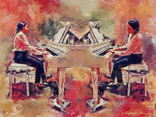 """Laura Hurtado Del Real"" Pianistin aus Andalusien - Konzert auf Mallorca"