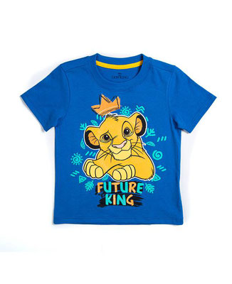 Camiseta niño Rey León            Talla: 4         Precio: $10,00