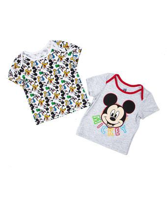 Camiseta x2 Mickey  Talla: 6-9    Precio: $10,00