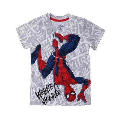 Camiseta Spiderman ploma  Tallas:4, 10    Precio: $12,00