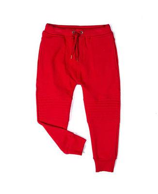 Jogger rojo  Tallas: 4, 6    Precio: $20,00