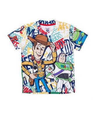 Camiseta Toy Story sublimada        Talla: 2    Precio: $12,00