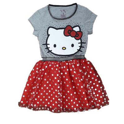 Vestido niña Hello Kitty             Tallas: 4, 10         Precio: $22,00