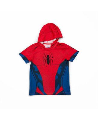 Camiseta capucha Spiderman  Talla:8    Precio: $15,00