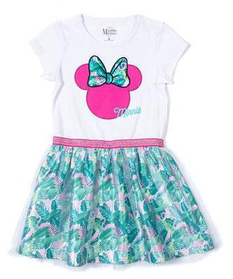 Vestido bebita Minnie Mouse               Talla: 2         Precio: $22,00