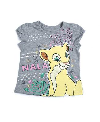Camiseta niña Rey León            Tallas: 3, 5         Precio: $10,00