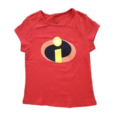 Camiseta Los increíbles         Tallas:6, 8, 10   Precio: $10,00