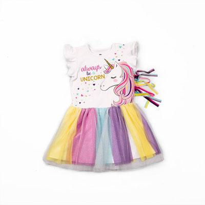 Vestido unicornio            Talla:5                    Precio: $22,00
