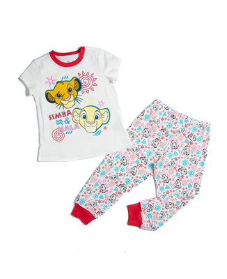 Pijama niña Rey León            Talla: 5         Precio: $18,00