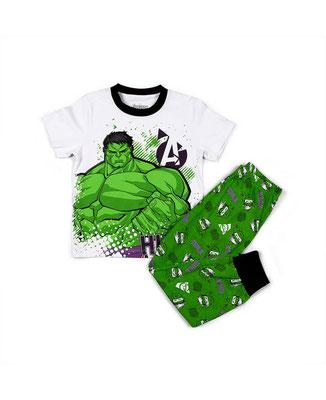 Pijama Hulk  Tallas: 6, 10, 12    Precio: $21,00