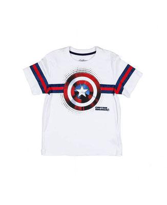 Camiseta Capitán América  Talla: 10    Precio: $13,00