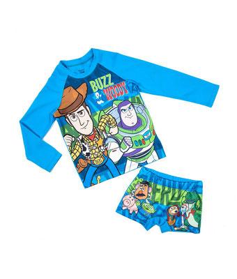 Conjunto de baño Toy Story         Talla: 8    Precio: $25,00