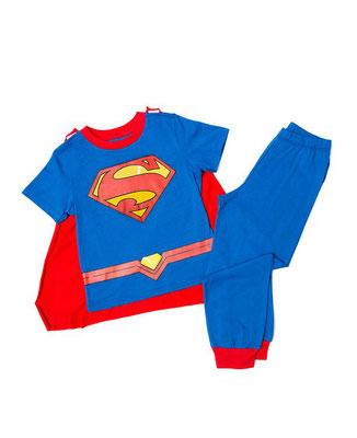 TALLA: 2    PRECIO: $20,00        PRENDA: PIJAMA CON CAPA SUPERMAN