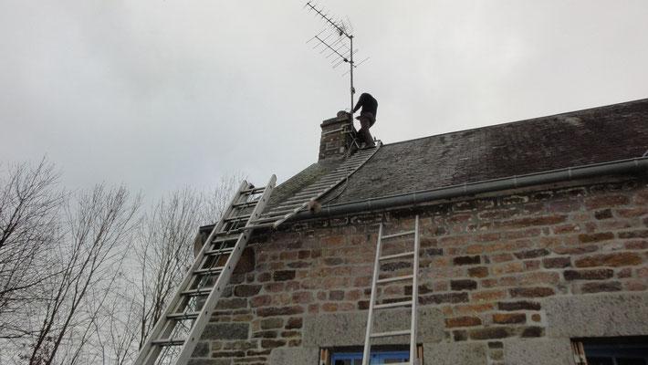 ramonage toujours fait par les toits