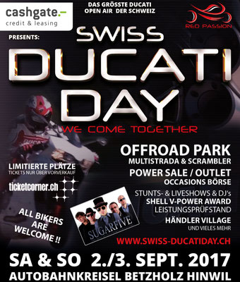 2017 September Swiss Ducati Day