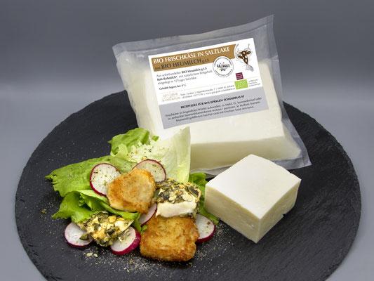 Frischkäse in Salzlacke - Garantiert Regional zertifiziert