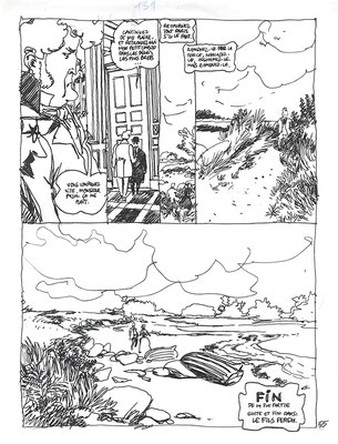 Storyboard tome 2 planche 55