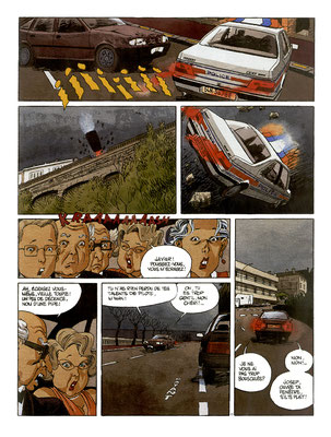Vieux Fou contre Godzilla planche 11