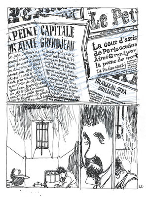 Storyboard tome 2 planche 22