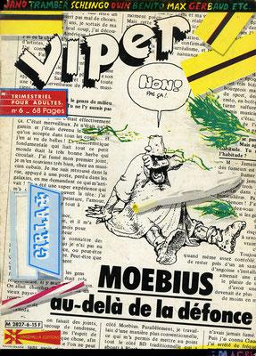 N°6, couverture d'Imagex (et Moebius)