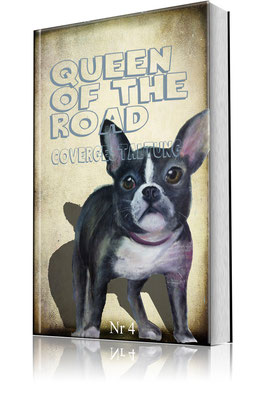 Hund auf Leinwand - Unikat - Cover  Leinwandmalerei - 4 kaufen - mit Textänderung 80 € - Änderungen möglich nach Absprache