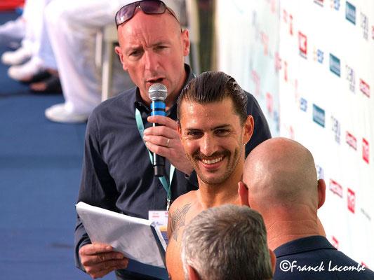 Giacomo Perez Dortona Open de France de natation 2016