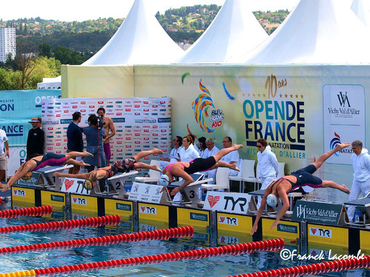 Open de France de natation 2016 Vichy