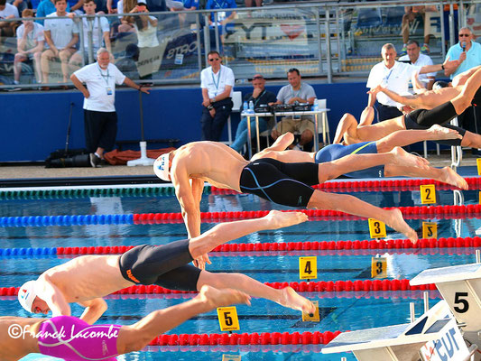 Florent Manaudou Open de France de natation 2016 Vichy
