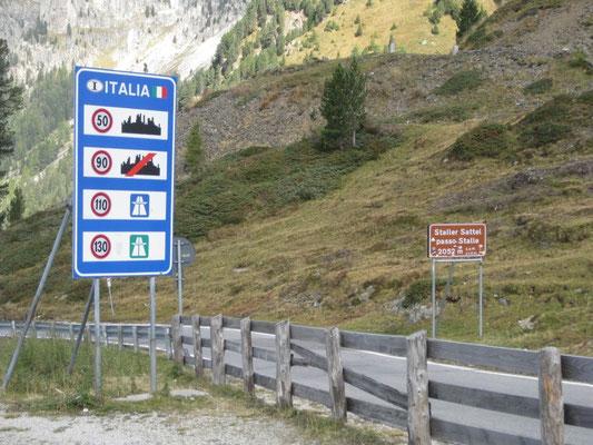 """So, nun sind wir drüben und es gilt wieder """"Vorsicht vor den Österreichischen Geschwindigkeits-Messern!"""