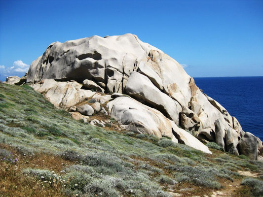 Diese Felsen erinnern mich an den heutigen Morgen