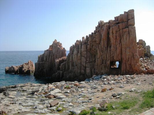 Der berühmte Rote Felsen