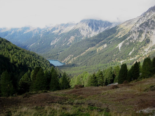 Dann geht´s über den Pass auf die österreichische Seite