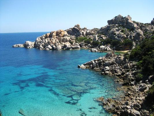 Bei Capo Testa gibt es die schönsten Badestrände Sardiniens
