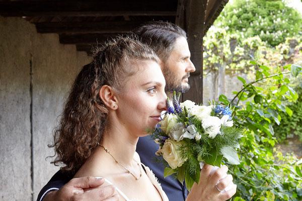 Brautpaar in der Burg Eltville