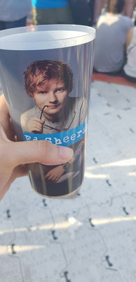 Ed Sheeran Konzert in München