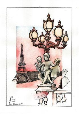 Paris Pont Alexandre III mai 2016 Pierre Sorbet