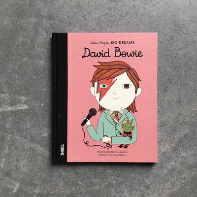 Buch 'little people big dreams' David Bowie 13,90 Euro