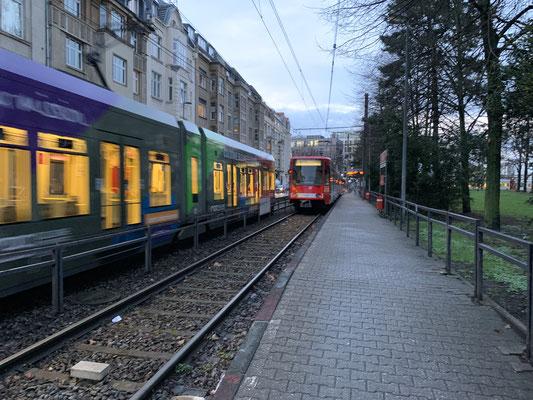 ケルンの路面電車