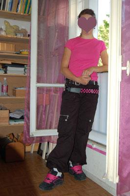 faire un pantalon baggy pour fille