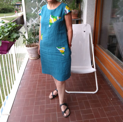 comment faire une robe d'été simple