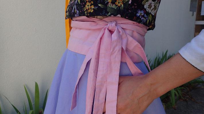 faire un patron de robe hanbok